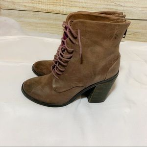Shoemint Brown Soft Leather Boots size 7.5